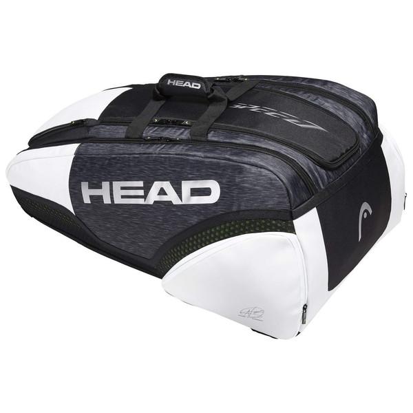 【送料無料】テニス ラケットバッグ ヘッド(HEAD) ジョコビッチモデル Djokovic 12R Monstercombi テニスバッグ ラケット12本収納 ユニセックス テニス用品 バックパック キャリーシステム