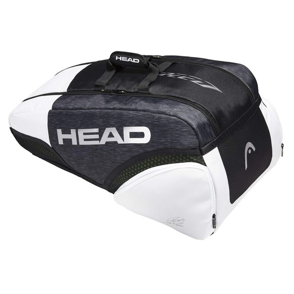 【送料無料】テニス ラケットバッグ ヘッド(HEAD) ジョコビッチモデル Djokovic 9R Supercombi ラケット9本収納 バックパックキャリーシステム テニス用品