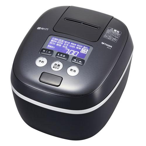 【送料無料】TIGER JPC-A102-KE アーバンブラック 炊きたて [圧力IH炊飯器(5.5合炊き)]