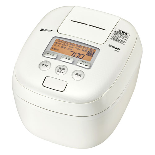 【送料無料】TIGER JPC-B182-WM ミルキーホワイト 炊きたて [圧力IH炊飯器(1升炊き)]