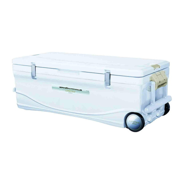 【送料無料】SHIMANO SPAZA WHALE LIMITED 600 HC-060I 白 スペーザ ホエール リミテッド 600 [釣り用 クーラーボックス(60L) キャスター付き]