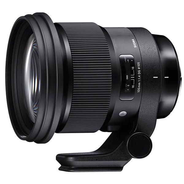 SIGMA 105mm F1.4 DG HSM ニコン用 [カメラ用交換レンズ]