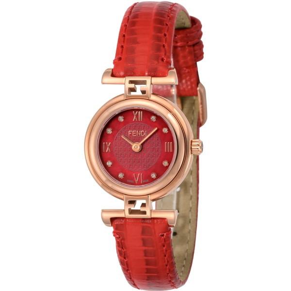 【送料無料】FENDI F275277BD レッド モーダ [クォーツ腕時計(レディースウオッチ)] 【並行輸入品】