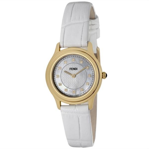 【送料無料】FENDI F250424541D1 ホワイトパール クラシコラウンド [クォーツ腕時計(レディースウオッチ)] 【並行輸入品】