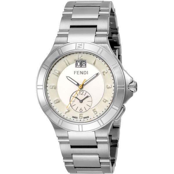 【送料無料】FENDI F478160 シルバー ハイスピード [クォーツ腕時計(メンズウオッチ)] 【並行輸入品】