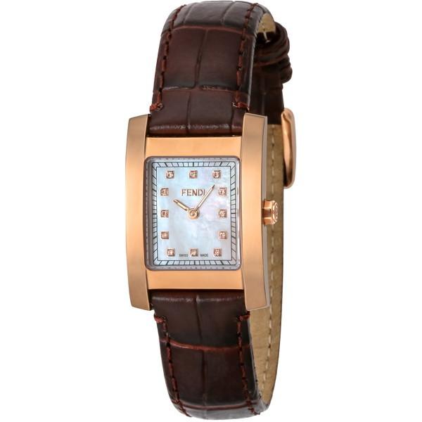 【送料無料】FENDI F704242D ホワイトパール クラシコ [クォーツ腕時計(レディースウオッチ)] 【並行輸入品】