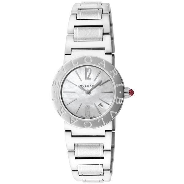 【送料無料】BVLGARI BBL26WSSD ブルガリブルガリ ステンレス ホワイト/シルバー [腕時計 レディース] 【並行輸入品】
