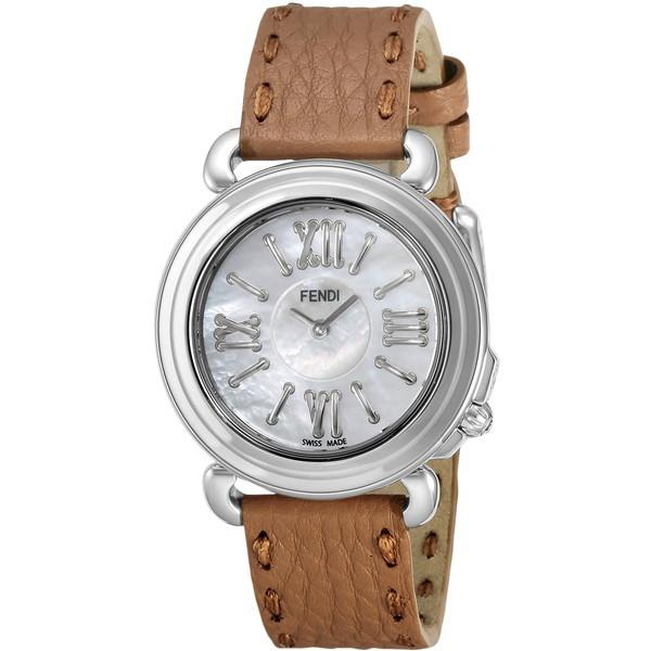 【送料無料】FENDI F8010345H0+SSN18R02S ホワイトパール セレリア [クォーツ腕時計(レディースウオッチ)] 【並行輸入品】