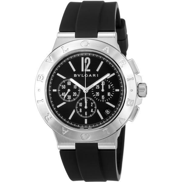 【送料無料】BVLGARI DG41BSVDCH-SET-BLK ディアゴノ [腕時計(メンズ)] 【並行輸入品】