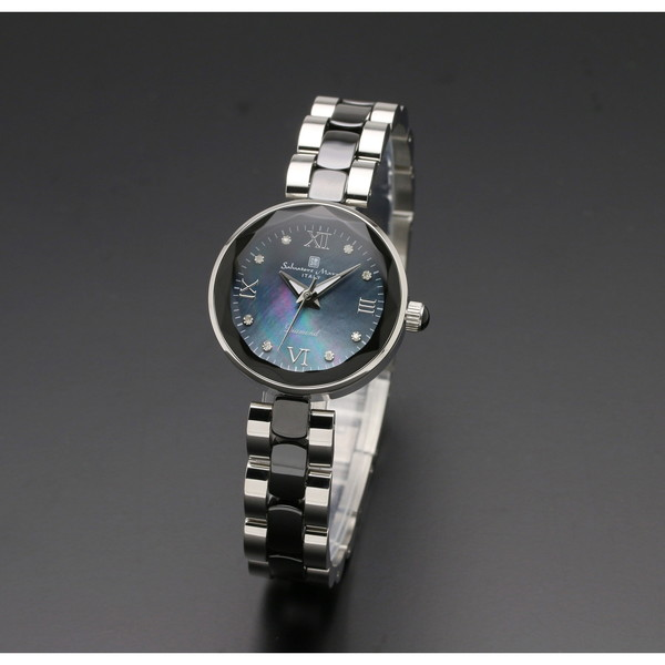 【送料無料】Salvatore Marra SM17153-SSBKR [クォーツ腕時計(レディース)]