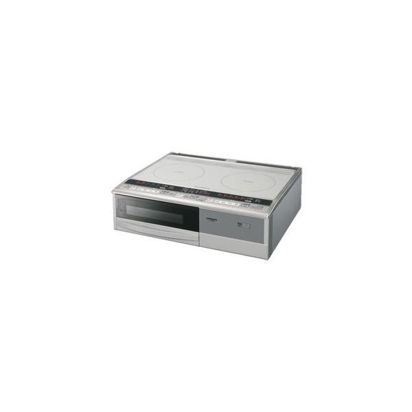 【送料無料】日立 HT-330S サイレントケムレス [据置型IHクッキングヒーター (2口・単相200V)]