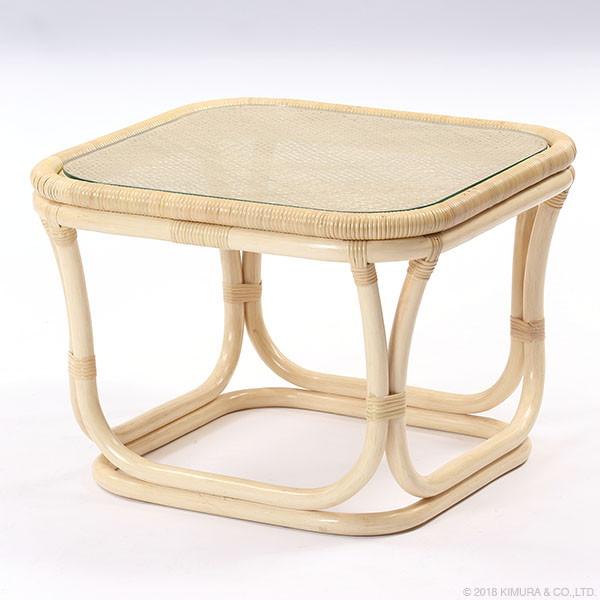 【送料無料】サンフラワーラタン ラタン サイドテーブル T201ND【同梱配送不可】【代引き不可】【沖縄・北海道・離島配送不可】