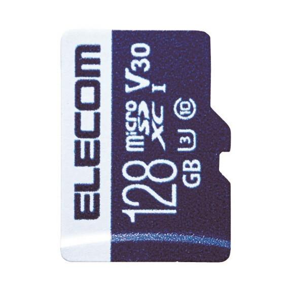【送料無料】ELECOM MF-MS128GU13V3R MicroSDXCカード データ復旧サービス付 ビデオスピードクラス対応 UHS-I U3 80MB s 128GB【同梱配送不可】【代引き不可】【沖縄・離島配送不可】
