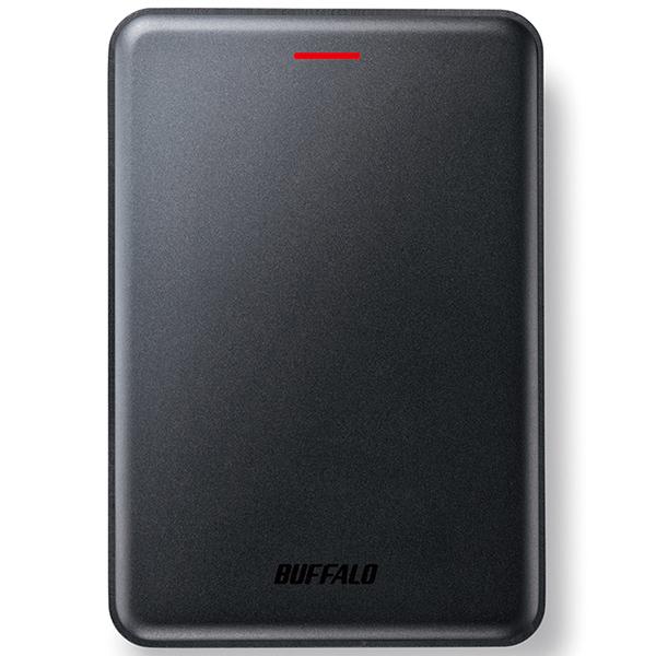 【送料無料】BUFFALO SSD-PUS240U3-B ブラック [ポータブル外付けSSD(240GB)]