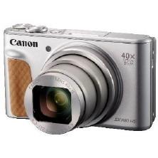 【送料無料】CANON PowerShot SX740 HS シルバー [コンパクトデジタルカメラ(2030万画素)]