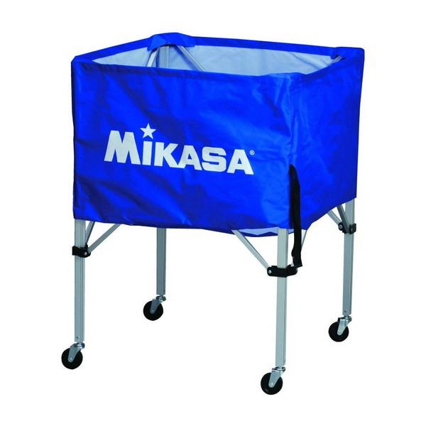 【送料無料】MIKASA BC-SP-S BL [ボールカゴ3点セット ブルー]