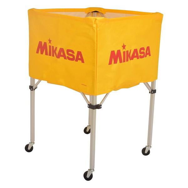 【送料無料】MIKASA BC-SP-H Y [ボールカゴ3点セット イエロー]