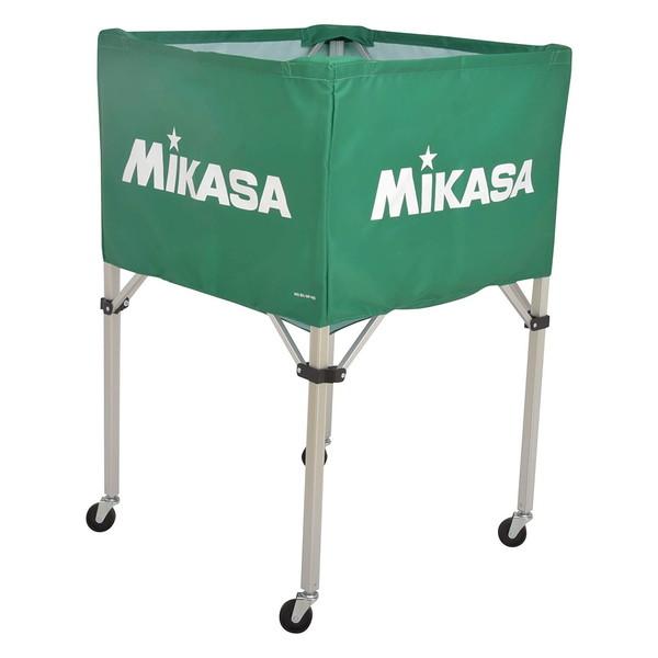 【送料無料】MIKASA BC-SP-H G [ボールカゴ3点セット グリーン]