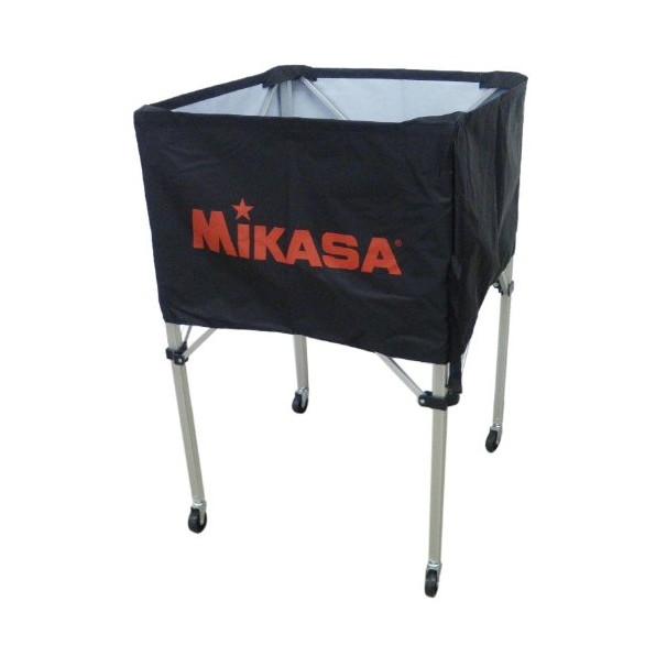 【送料無料】MIKASA BC-SP-H BK [ボールカゴ3点セット ブラック]