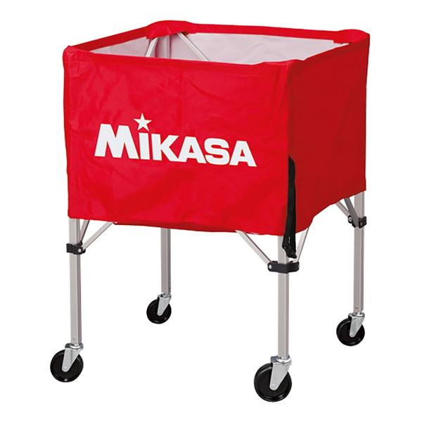 【送料無料】MIKASA BC-SP-HL R [ボールカゴ3点セット 大型キャスター付 レッド]