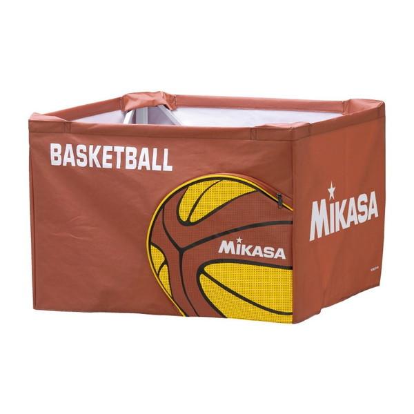 【送料無料】MIKASA BC-SP-HL BL [ボールカゴ3点セット 大型キャスター付 ブルー]