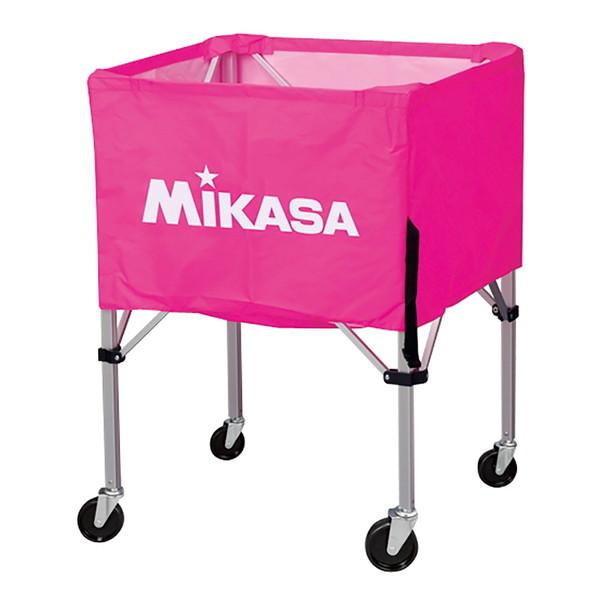 【送料無料】MIKASA BC-SP-HL P [ボールカゴ3点セット 大型キャスター付 ピンク]