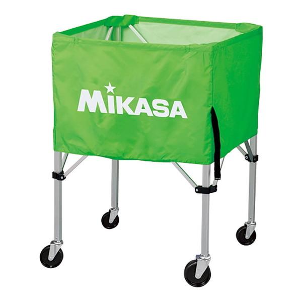【送料無料】MIKASA BC-SP-HL LG [ボールカゴ3点セット 大型キャスター付 ライトグリーン]