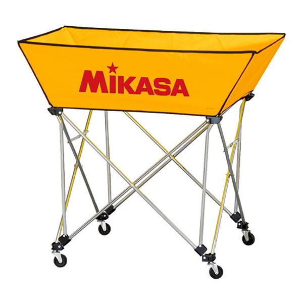 【送料無料】MIKASA BC-SP-WM Y [ボールカゴ3点セット イエロー]