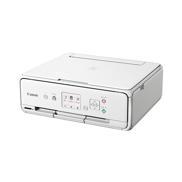 【送料無料】CANON TS5030S WH ホワイト PIXUS(ピクサス) [A4カラーインクジェットプリンター (スキャナ/無線LAN対応)]