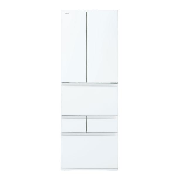 【送料無料】東芝 GR-P460FW(UW) クリアグレインホワイト VEGETA(べジータ) [冷蔵庫 (462L・フレンチドア)] 【代引き・後払い決済不可】【離島配送不可】