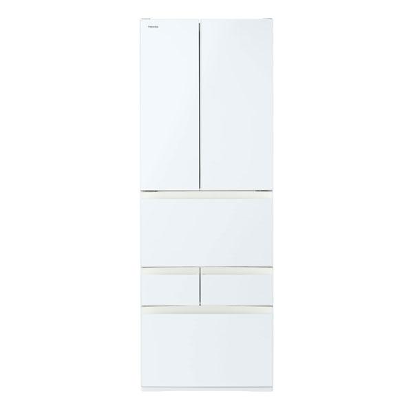 【送料無料】東芝 GR-P510FD(EW) グランホワイト VEGETA(べジータ) [冷蔵庫 (509L・フレンチドア)]