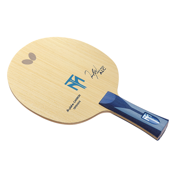 【送料無料】卓球 ラケット シェーク バタフライ(Butterfly) カーボン アウター ティモボル ALC FL 卓球ラケット 攻撃用シェーク FL(フレア) 5枚合板+アリレートカーボン 卓球用品 ボル選手使用モデル