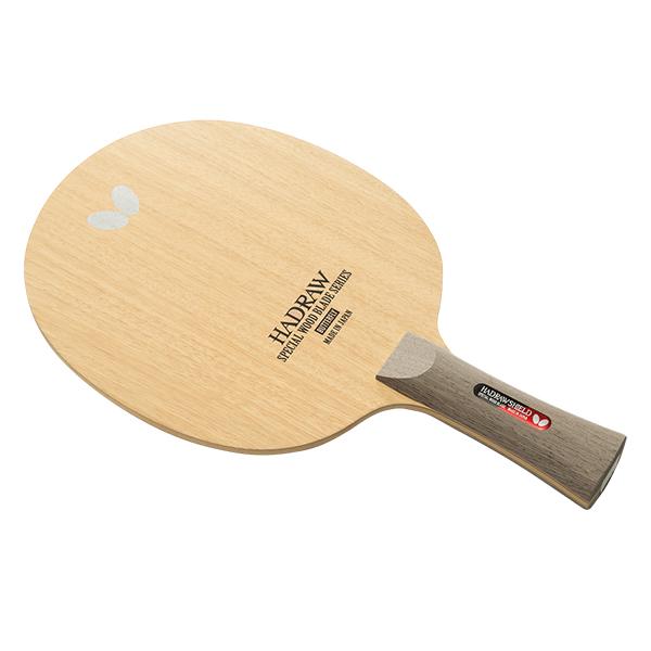 卓球 ラケット シェークハンド バタフライ(Butterf) ハッドロウシールド FL 卓球ラケット カット用シェーク カット主戦型向け 5枚合板 フレアグリップ