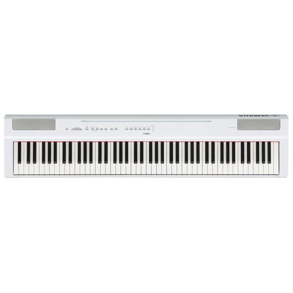 【送料無料】YAMAHA P-125WH ホワイト Pシリーズ [電子ピアノ(88鍵)]