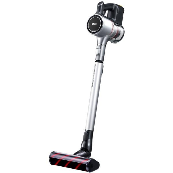 【送料無料】LGエレクトロニクス A9BED2XC ファンタジーシルバー CordZero [スティック型サイクロン式コードレス掃除機]