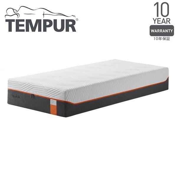 【送料無料】Tempur コントゥアリュクス30 ホワイト セミダブル 120×195×30 [テンピュール 低反発 マットレス ベッド 寝具 安眠 快眠 快適枕]【同梱配送不可】【代引き不可】【沖縄・北海道・離島配送不可】