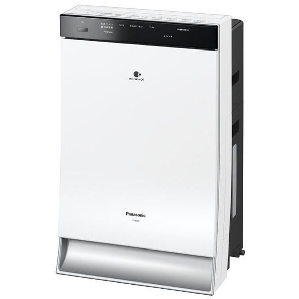 【送料無料】PANASONIC F-VXR90-W ホワイト [加湿空気清浄機(空清40畳まで/加湿24畳まで)]