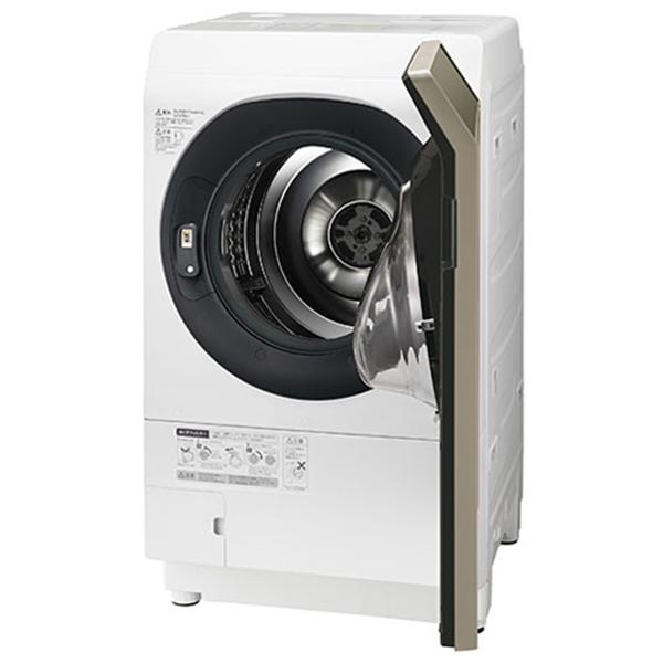 【送料無料】SHARP ES-G111-NR ゴールド系 [ドラム式洗濯乾燥機(洗濯11.0kg/乾燥6.0kg) 右開き]