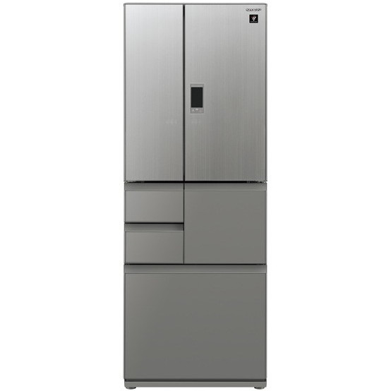 【送料無料】SHARP SJ-GX55E-S エレガントシルバー [冷蔵庫 (551L・フレンチドア)] 【代引き・後払い決済不可】【離島配送不可】