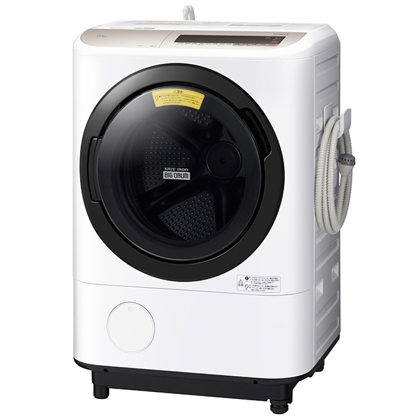 【送料無料】日立 BD-NV120CL シャンパン ビッグドラム [ななめ型ドラム式洗濯乾燥機 (12kg) 左開き]
