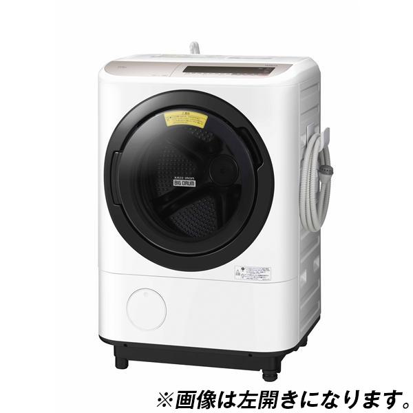 【送料無料】日立 BD-NV120CR シャンパン ビッグドラム [ななめ型ドラム式洗濯乾燥機 (12kg) 右開き]
