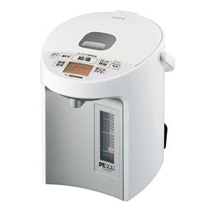 【送料無料】象印 CV-GT22-WA ホワイト VE電気まほうびん 優湯生 [マイコン沸とう電気ポット(2.2L)]
