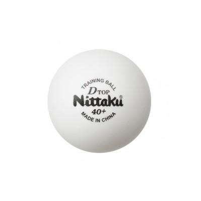 【送料無料】卓球 ボール ニッタク(Nittaku) Dトップトレ球 (50ダース) 練習球 卓球用品