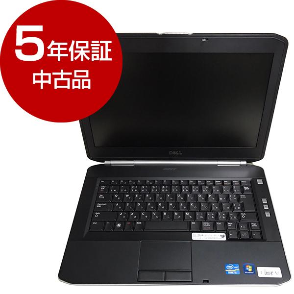 【送料無料】【 中古品 5年間保証付き 】 DELL Latitude E5420 [ノートパソコン 14型ワイド液晶 HDD250GB] 【アウトレット】
