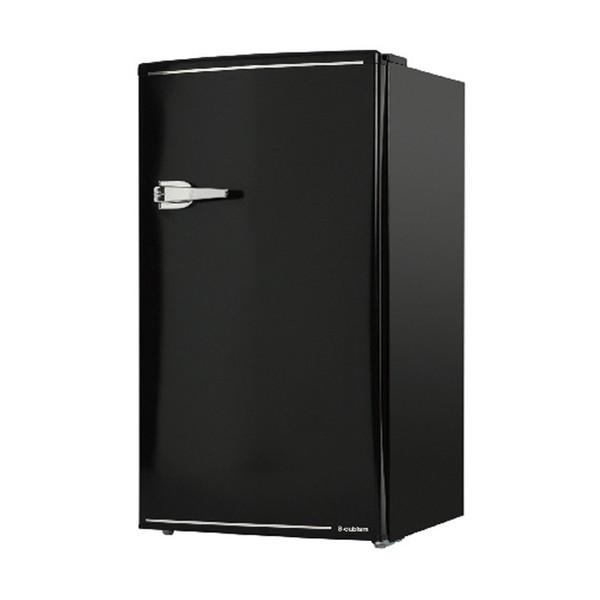 【送料無料】S-cubism Electric WRD-1085K ブラック [冷蔵庫(85L・右開き)]