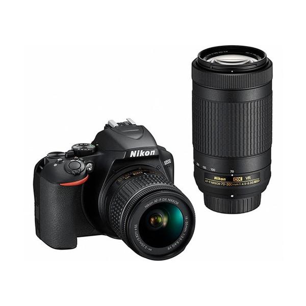 【送料無料】Nikon D3500 ダブルズームキット [デジタル一眼レフカメラ(2416万画素)]
