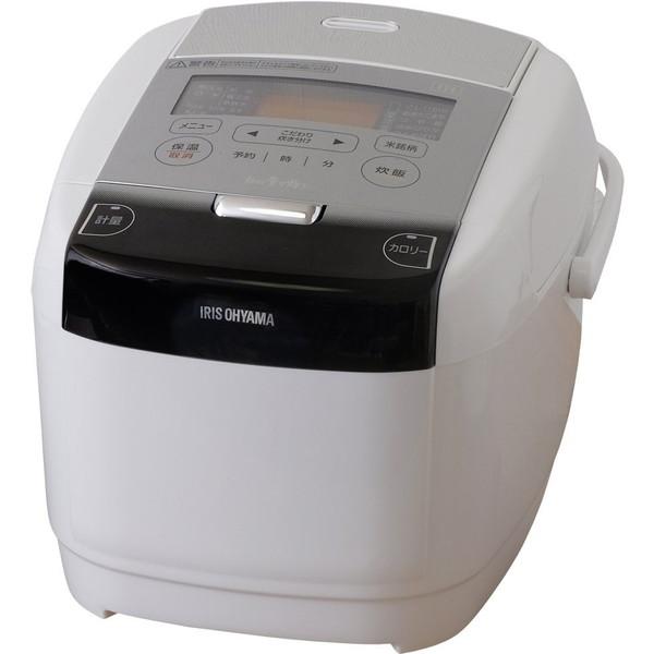 【送料無料】アイリスオーヤマ RC-IC50-W 米屋の旨み 銘柄量り炊き [IH炊飯器(5.5合炊き)]