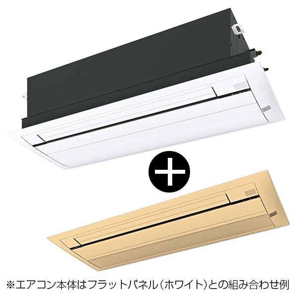 エアコン 14畳 ダイキン 天井埋込カセット形 S40RCRV CRシリーズ うるるとさらら + 標準パネル(木目)セット [天井埋込カセット形エアコン(主に14畳用)] シングルフロータイプ メーカー直送