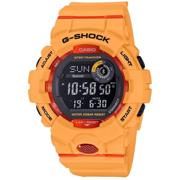 【送料無料】CASIO(カシオ) GBD-800-4JF G-SHOCK ジー・スクワッド [クォーツ腕時計(メンズウオッチ)]