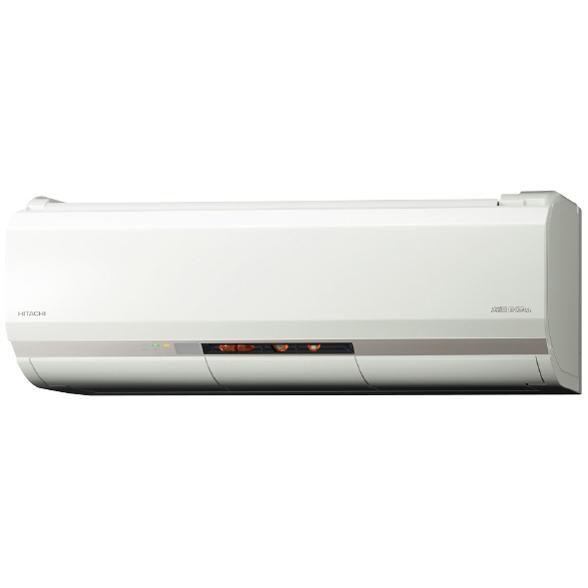 【送料無料】日立 RAS-XK25J(W) スターホワイト メガ暖 白くまくん XKシリーズ [エアコン(主に8畳用)]